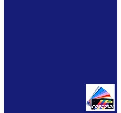 "Rosco 85 Deep Blue Lighting Gel Sheet 20""x24"""