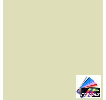 "Rosco 87 Pale Yellow Green Lighting Gel Sheet 20""x24"""
