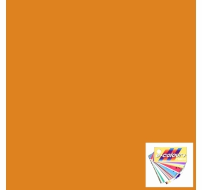 Rosco E Colour 020 Medium Amber Lighting Gel Sheet 21 x 24 Inch