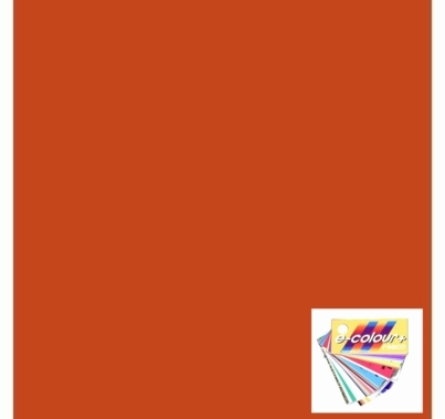Rosco E Colour 022 Dark Amber Lighting Gel Sheet 21 x 24 Inch