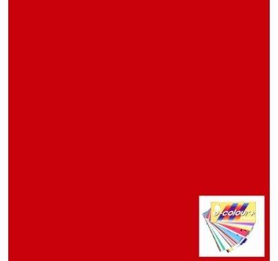 Rosco E Colour 026 Bright Red Lighting Gel Filter Sheet 21 x 24 Inch