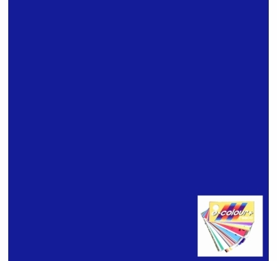 Rosco E Colour 079 Just Blue Lighting Gel Sheet 21 x 24 Inch