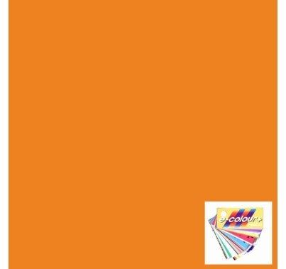 """Rosco E Colour 105 Orange Lighting Gel Sheet 21""""x24"""""""