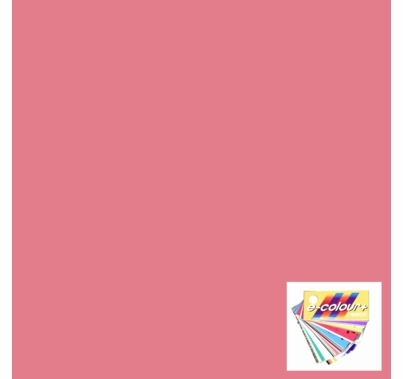 "Rosco E Colour 127 Smokey Pink Lighting Gel Sheet 21""x24"""