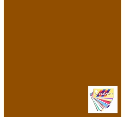Rosco E Colour 156 Chocolate Gel Filter Sheet