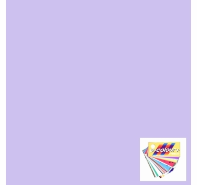 "Rosco E Colour 169 Lilac Tint Gel Filter Sheet 21""x24"""