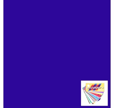 Rosco E Colour 181 Congo Blue Gel Filter Sheet 10 x 12 Inch