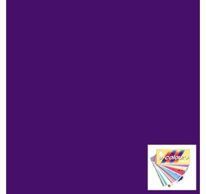 """Rosco E Colour 5084 Damson Violet Lighting Gel Sheet 21""""x24"""""""