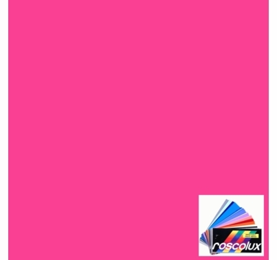 "Rosco Fluorescent Sleeve E-Colour Rose Pink 002 48"" fits T12 Lamp"