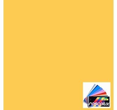 Rosco Roscolux 11 Light Straw Gel Filter Sheet