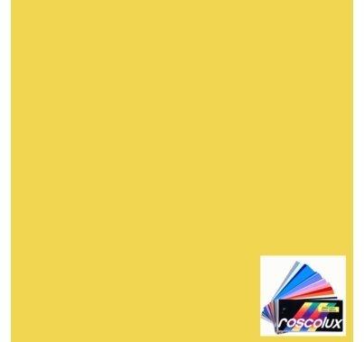 Rosco Roscolux 12 Straw Gel Filter Sheet