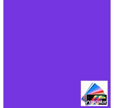 Rosco Roscolux 125 Blue Cyc Silk Gel Filter Sheet