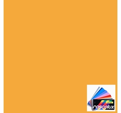 Rosco Roscolux 14 Medium Straw Gel Filter Sheet