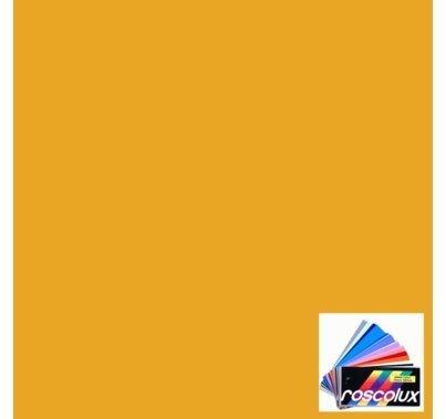 Rosco Roscolux 16 Light Amber Gel Filter Sheet