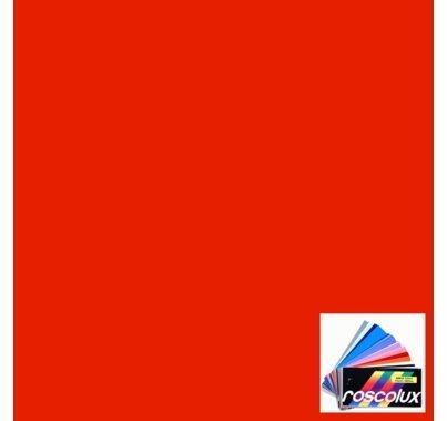 Rosco Roscolux 25 Orange Red Gel Filter Sheet