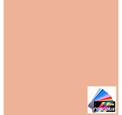 Rosco Roscolux 305 Rose Gold Gel Filter Sheet