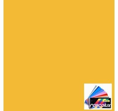 Rosco Roscolux 313 Light Relief Yellow  Gel Filter Sheet