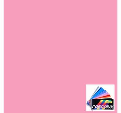 Rosco Roscolux 337 True Pink Gel Filter Sheet