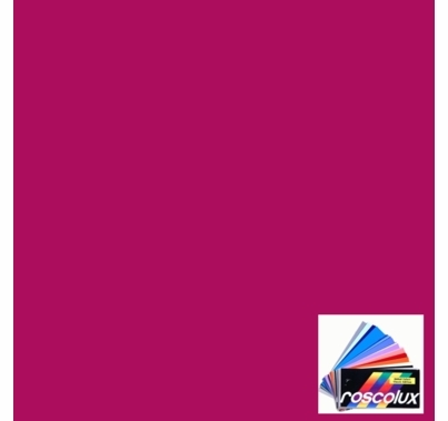 Rosco Roscolux 349 Fisher Fuchsia Gel Filter Sheet