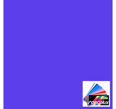 "Rosco Roscolux 359 Medium Violet Gel Filter Sheet 20""x24"""