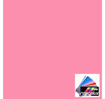 Rosco Roscolux 36 Medium Pink Gel Filter Sheet