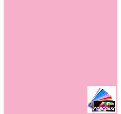 Rosco Roscolux 37 Pale Rose Pink Gel Filter Sheet