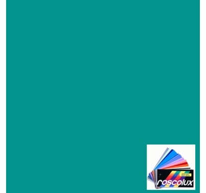 "Rosco Roscolux 370 Italian Blue Lighting Gel Filter Sheet 20""x24"""