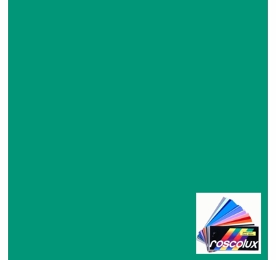 "Rosco Roscolux 374 Sea Green Gel Filter Sheet, 20""x24"""