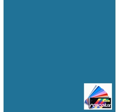 Rosco Roscolux 376 Bermuda Blue Gel Filter Sheet