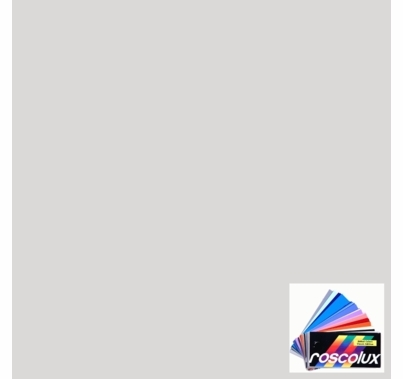 "Rosco Roscolux 397 Pale Grey Lighting Gel Sheet 20""x24"""