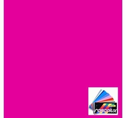 Rosco Roscolux 43 Deep Pink Gel Filter Sheet