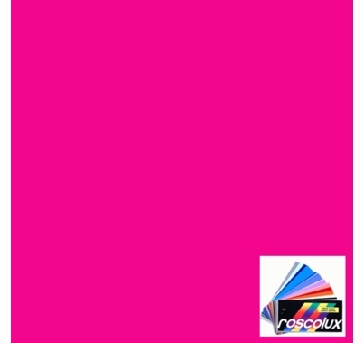 Rosco Roscolux 44 Middle Rose Gel Filter Sheet