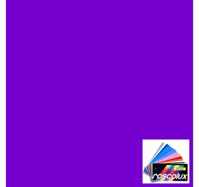Rosco Roscolux 47 Light Rose Purple Gel Filter Sheet