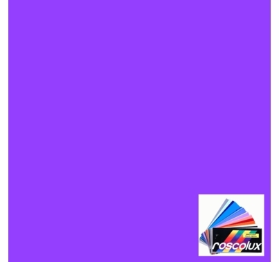 "Rosco Roscolux 58 Deep Lavender Lighting Gel Filter Sheet 20""x24"""