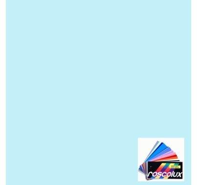 """Rosco Roscolux 61 Mist Blue Lighting Gel Filter Sheet 20""""x24"""""""