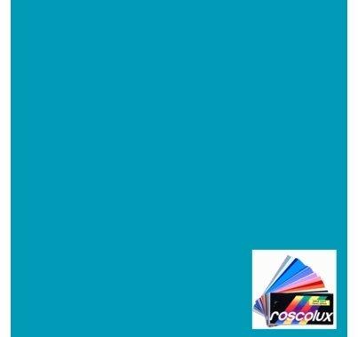"Rosco Roscolux 72 Azure Blue Gel Filter Sheet, 20""x24"""