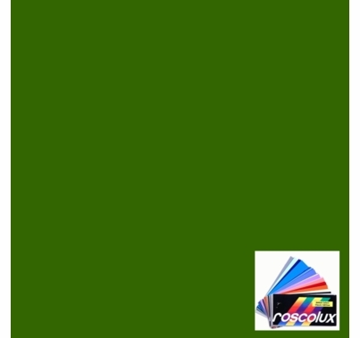 Rosco Roscolux 90 Dark Yellow Green Gel Filter Sheet