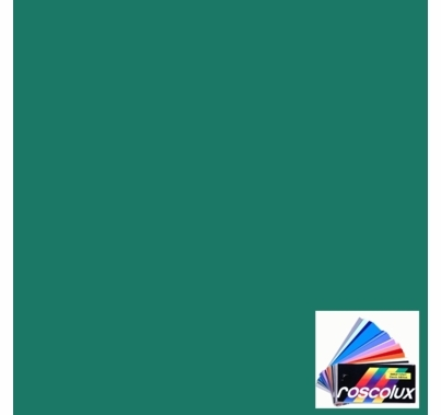 "Rosco Roscolux 93 Blue Green Lighting Gel Filter Sheet 20""x24"""