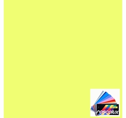 Rosco Roscolux CalColor 4530 Yellow 30 Gel Filter Sheet