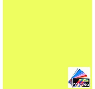 Rosco Roscolux CalColor 4560 Yellow 60 Gel Filter Sheet