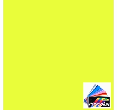 Rosco Roscolux CalColor 4590 Yellow 90 Gel Filter Sheet