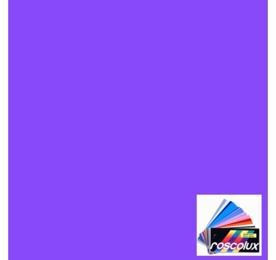 "Rosco Roscolux CalColor 4960 Lavender 60 Gel Filter Sheet 24""x20"""