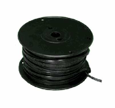 18/2 Black Zip Cord 250ft  2 Conductor  E108