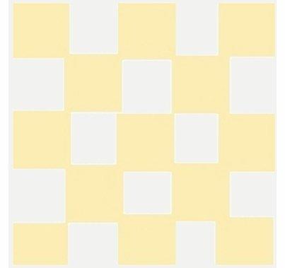 6x6 Checkerboard Reflector Gold/Silver Lisa Marie  BF15