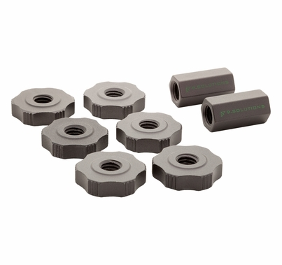 "9.Solutions 3/8"" Finger Nut and Connecting Nut Kit"