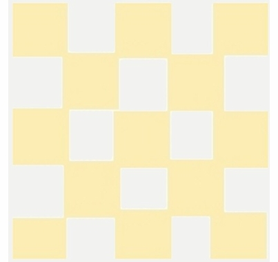 Advantage 12'x12' Checkerboard Silver / Gold Lame   w/Bag M1212.67