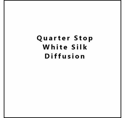 Advantage 20x20 Quarter Stop Silk White  w/Bag, M2020.74