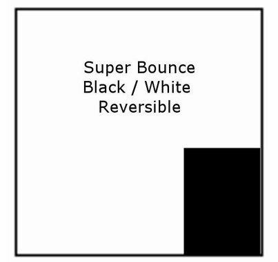 Advantage 6x6 Super Bounce Black and Photo White
