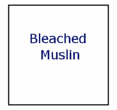 American 12x12 Bleached Muslin OH21