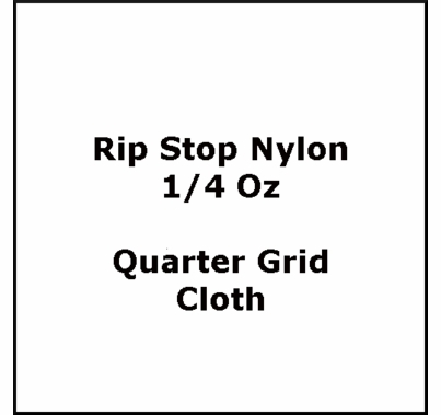 American Grip 8x8 Rip Stop Nylon 1/4 oz Quarter Grid Cloth